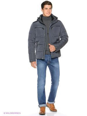 Куртка SNOWIMAGE. Цвет: серо-зеленый