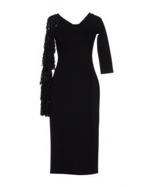 Платье до колена MACRÍ. Цвет: черный