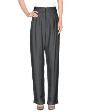 Повседневные брюки GOTHA. Цвет: свинцово-серый