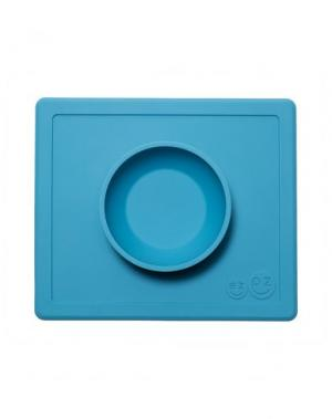 Набор для кормления EZPZ. Цвет: пастельно-синий