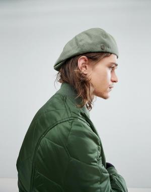 Brixton Плоская кепка Brood. Цвет: зеленый
