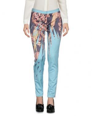 Повседневные брюки MATTHEW WILLIAMSON. Цвет: темно-синий