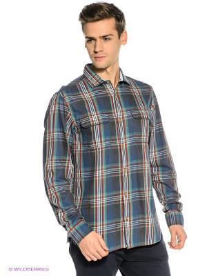 Рубашка S.OLIVER. Цвет: индиго