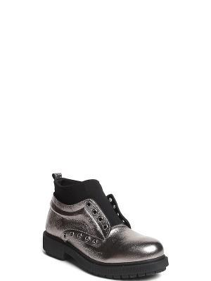 Ботинки MILANA. Цвет: серебристый