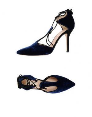 Туфли WERNER. Цвет: темно-синий