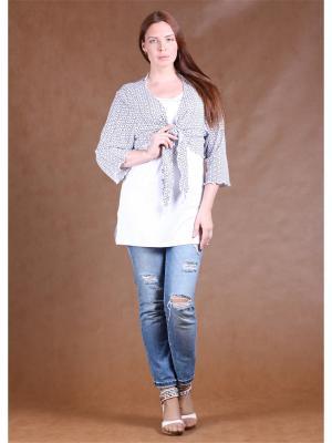 Комплект одежды Yuliya Shehodanova. Цвет: белый, темно-синий