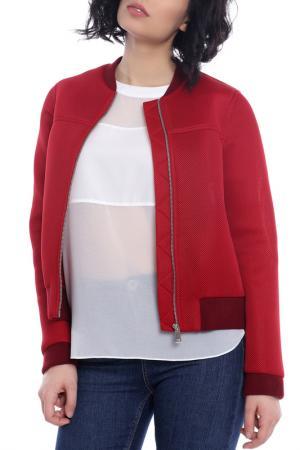 Куртка Emma Monti. Цвет: красный