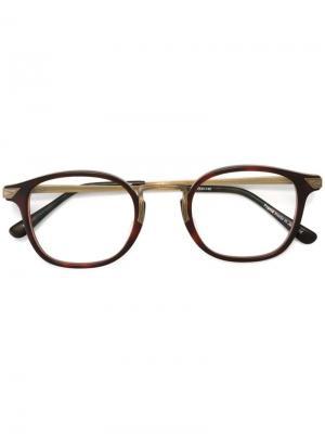 Очки 2808H Matsuda. Цвет: коричневый