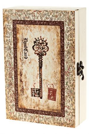 Ключница Золотой ключик Arthouse. Цвет: коричневый