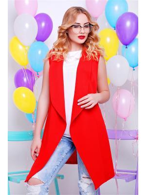 Кардиган Fashion Up. Цвет: красный