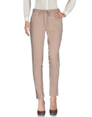 Повседневные брюки NOLITA. Цвет: бежевый