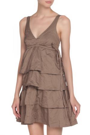 Платье LIU-JO. Цвет: хаки