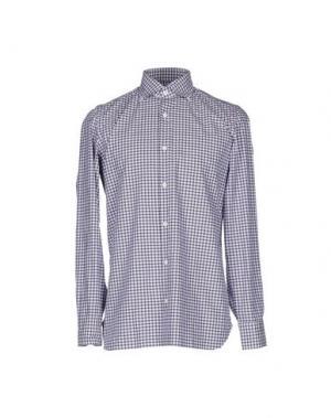Pубашка GIAMPAOLO. Цвет: стальной серый