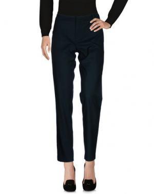 Повседневные брюки SINÉQUANONE. Цвет: темно-зеленый