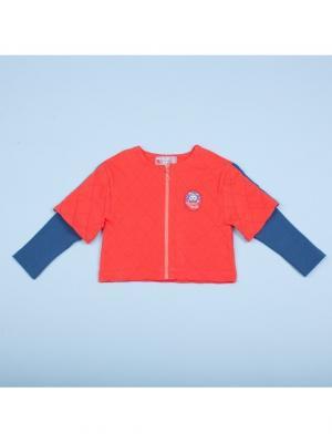 Куртка Free Age. Цвет: оранжевый