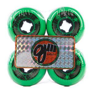 Колеса для скейтборда лонгборда  Iii Bloodsuckers 3 Green Black 97A 60 mm Oj