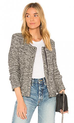 Куртка boucle Generation Love. Цвет: серый