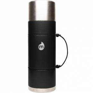 Термобутылка Для Воды MIZU. Цвет: black hammer paint w/ le drip
