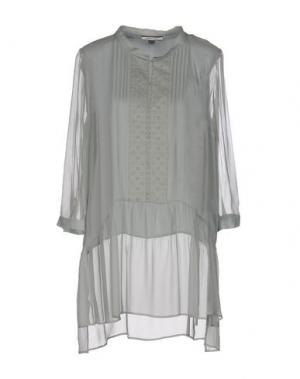 Блузка REBEL QUEEN. Цвет: зеленый