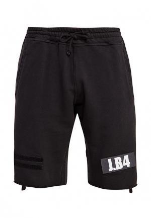 Шорты спортивные J.B4. Цвет: черный