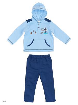 Спортивный костюм Sun City. Цвет: голубой