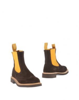 Полусапоги и высокие ботинки TRICKER'S. Цвет: темно-коричневый