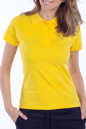 Рубашка-поло POLO CLUB С.H.A.. Цвет: желтый