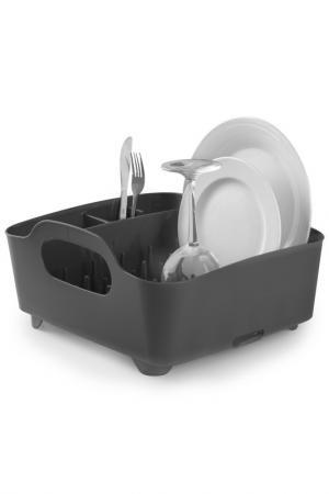 Сушилка для посуды Tub UMBRA. Цвет: серый