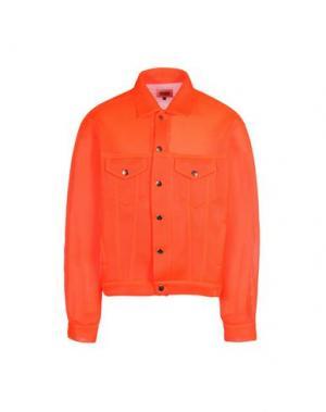 Куртка CHRISTOPHER SHANNON. Цвет: оранжевый