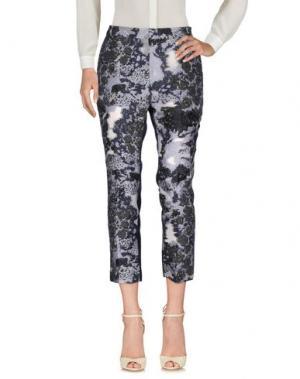 Повседневные брюки MICHAEL VAN DER HAM. Цвет: синий
