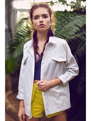 Куртка джинсовая C.H.I.C.. Цвет: белый