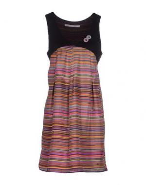 Короткое платье ROSAMUNDA. Цвет: фиолетовый