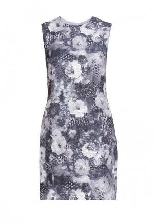 Платье Arefeva. Цвет: серый