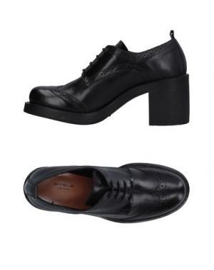 Обувь на шнурках STELE. Цвет: черный