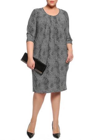 Платье Amazone. Цвет: черный, белый