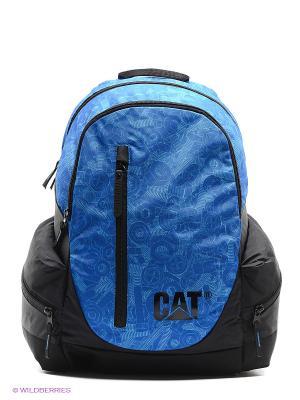 Рюкзак Caterpillar. Цвет: голубой