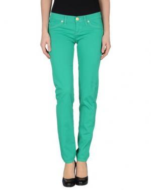 Повседневные брюки TAKE-TWO. Цвет: зеленый