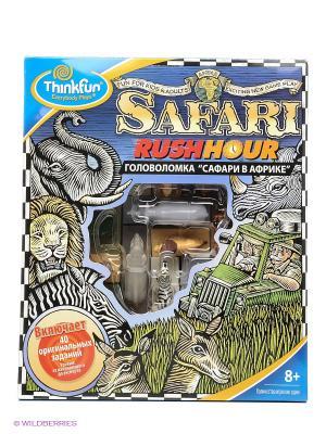 Игра головоломка Сафари в Африке Think Fun. Цвет: салатовый, желтый