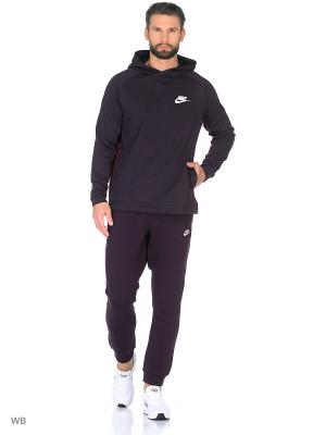 Худи M NSW AV15 HOODIE PO FLC Nike. Цвет: фиолетовый