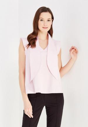 Блуза DuckyStyle. Цвет: розовый