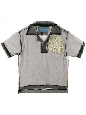 Рубашка-поло Not Just A Polo. Icon 1.2 Viktor & Rolf. Цвет: чёрный
