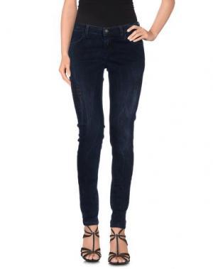 Джинсовые брюки BRIAN DALES & LTB. Цвет: темно-синий