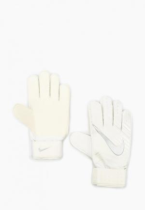 Перчатки вратарские Nike. Цвет: белый