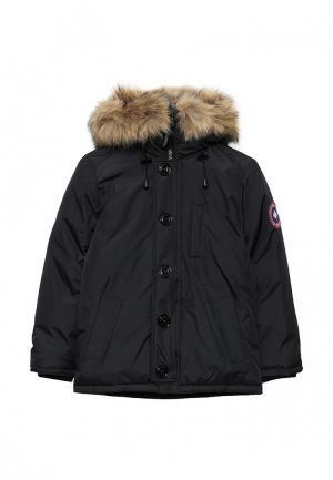 Куртка утепленная Kamora. Цвет: синий