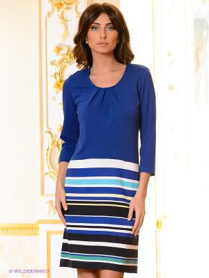 Платье Pura. Цвет: синий