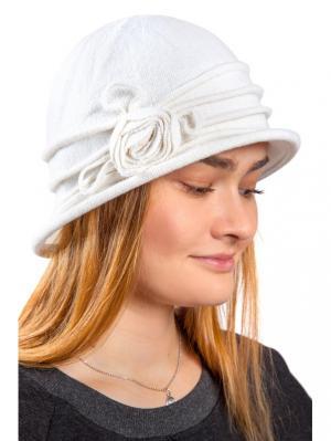 Шляпа Three S. Цвет: молочный