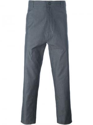 Укороченные брюки Punto Cavallo Société Anonyme. Цвет: серый