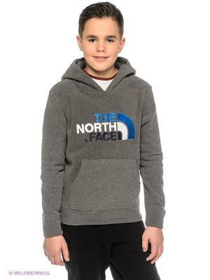 Толстовка The North Face. Цвет: серо-коричневый