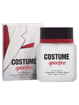 Туалетная вода Costume Sportive (Костюм Cпортив) муж. 100ml APPLE PARFUMS. Цвет: прозрачный