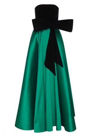 Платье Denise Sachin & Babi. Цвет: зеленый, черный